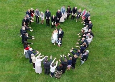 Hochzeit Foto Herz