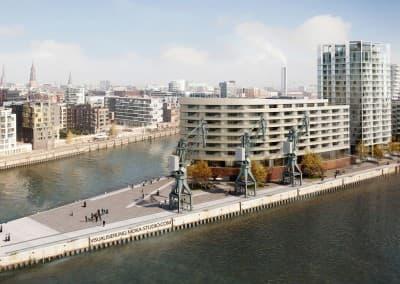AUG PRIEN, Strandkai, HafenCity Hamburg